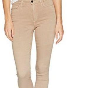Joe's Jeans high rise skinny ankle tan beige pants